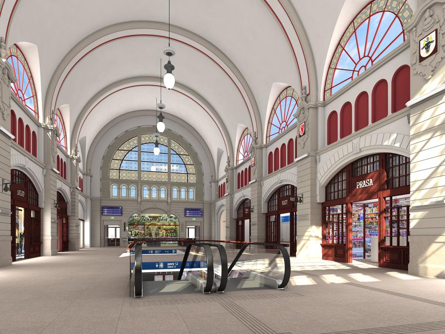 Tak będzie wygladał zmodernizowany dworzec Gdańsk Główny /Materiały prasowe