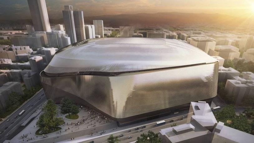 Tak będzie wyglądał zmodernizowany stadion Realu Madryt /materiały prasowe