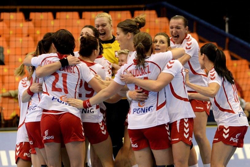 Tak cieszyły się Polki z awansu do półfinału mistrzostw świata /PAP/EPA