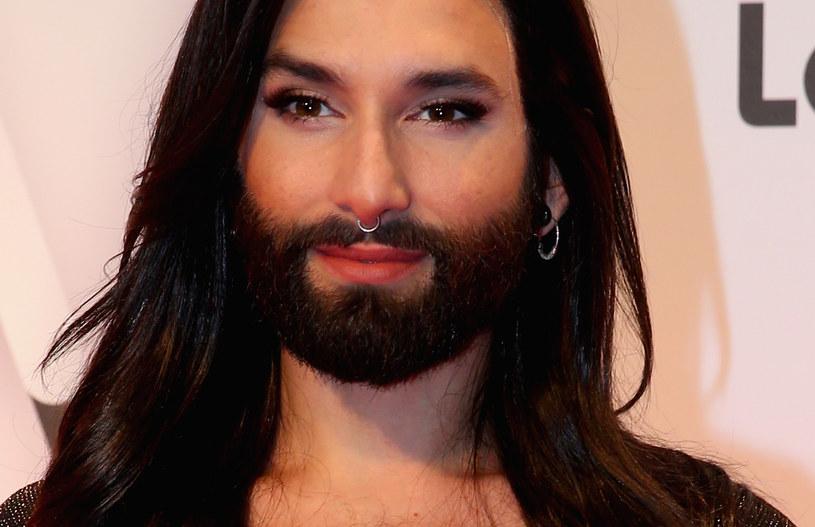 Tak Conchita Wurst wyglądała jeszcze niedawno /Alexander Hassenstein /Getty Images