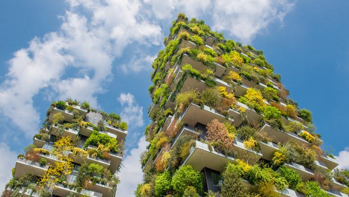 25-10-2021 05:55 Tak dziś wygląda Bosco Verticale, pionowy las na apartamentowcach