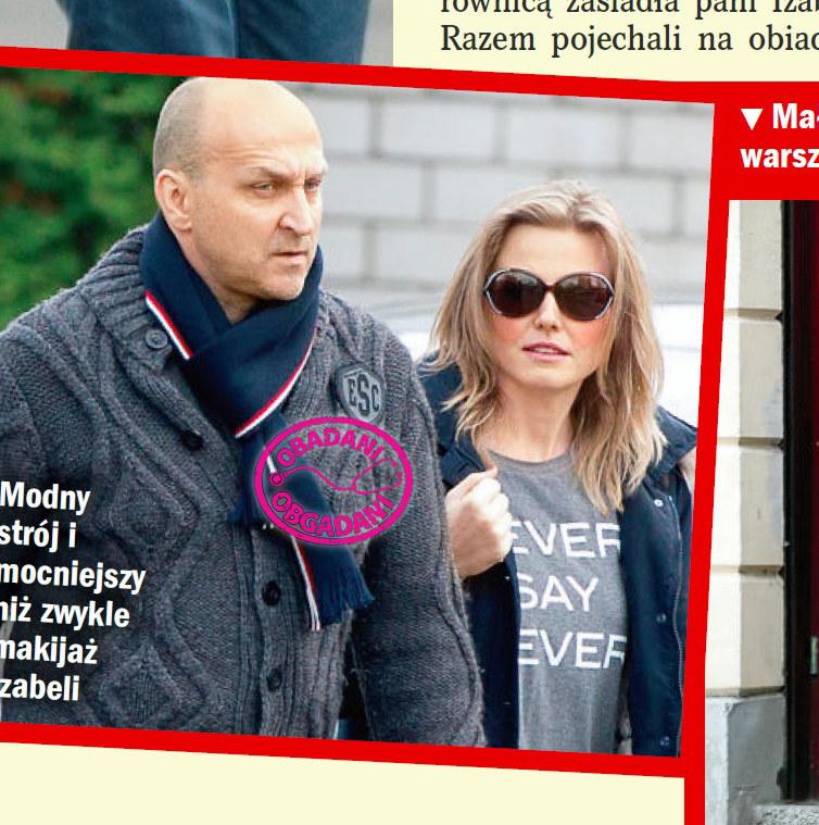 Tak dzisiaj wyglądają Isabel i Kazimierz Marcinkiewicz /Życie na gorąco