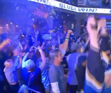 Tak fani St. Louis Blues świętowali pierwszy w historii Puchar Stanleya. Wideo