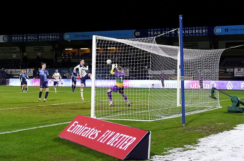 Tak Gareth Bale doprowadził do remisu /John Walton    /Getty Images