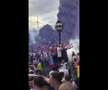 Tak kibice Leeds świętowali wielki sukces. Wideo
