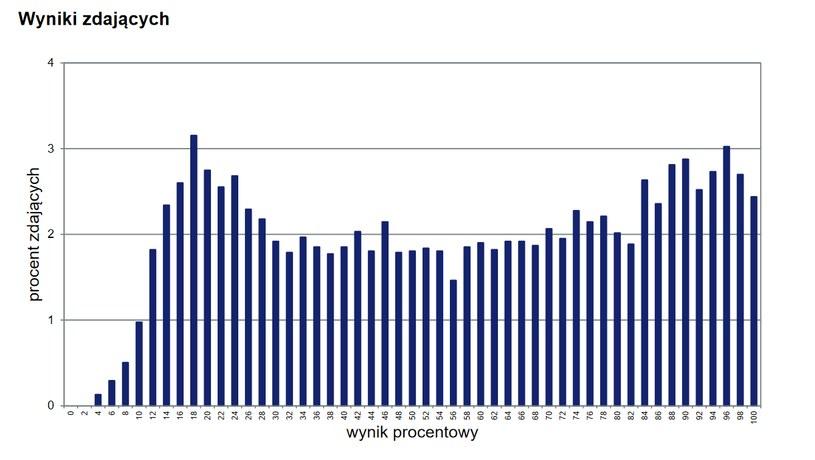 Tak kształtowały się wyniki matury z niemieckiego - poziom rozszerzony w ubiegłym roku /CKE