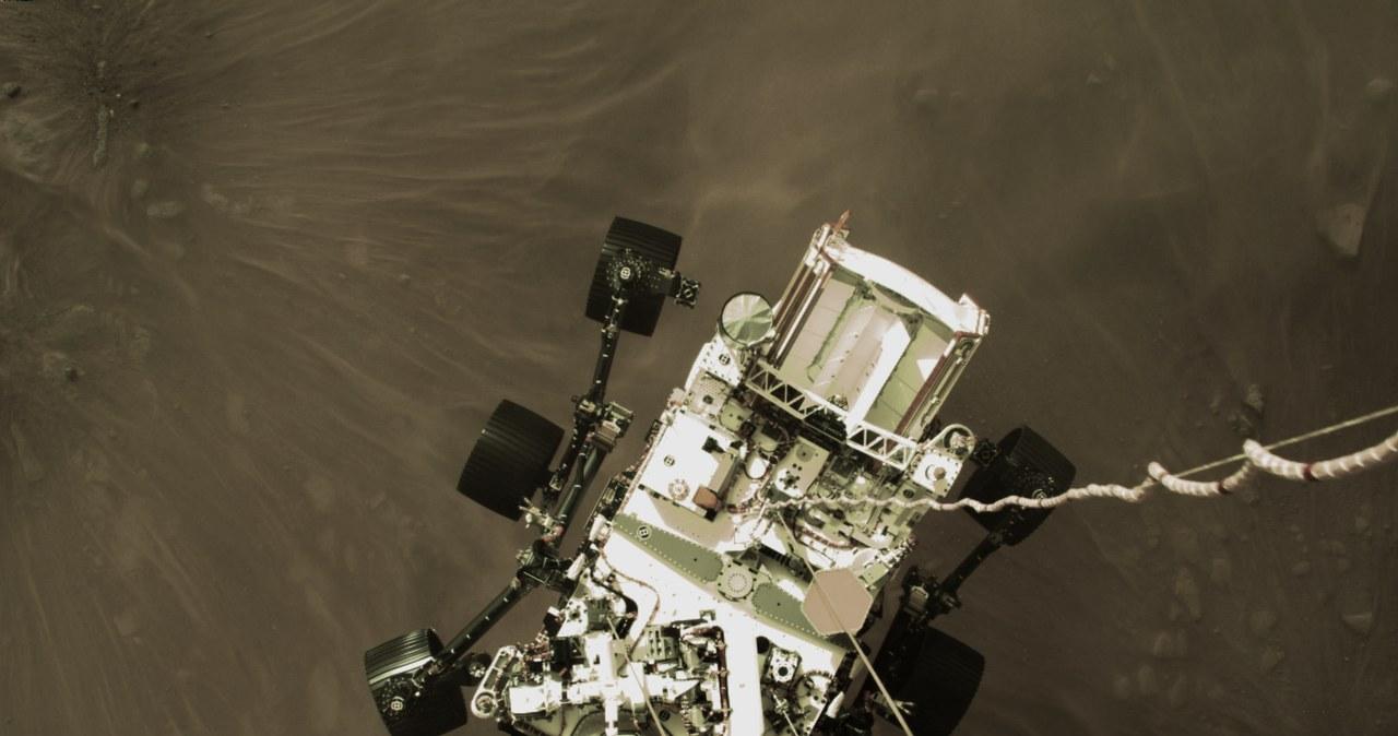 Tak łazik Perseverance lądował na Marsie. Zobacz historyczne nagranie!