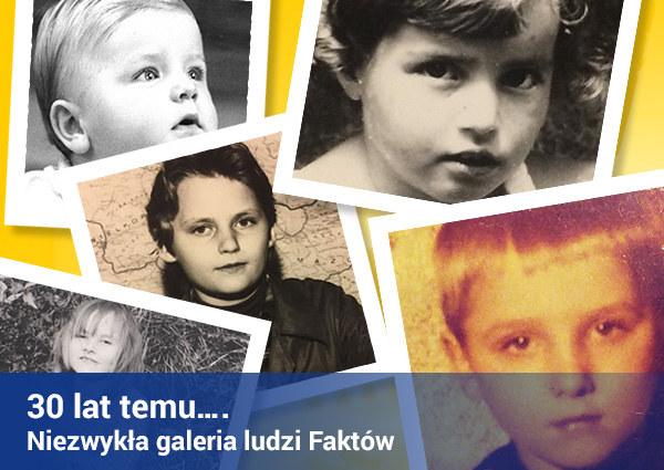 Tak ludzie Faktów wyglądali… w dzieciństwie /RMF FM