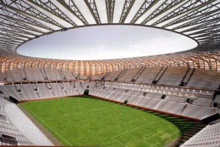 Tak ma wyglądać Baltic Arena /Agencja Przegląd Sportowy