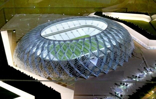 Tak ma wyglądać jeden ze stadionów na mundial w Katarze /AFP