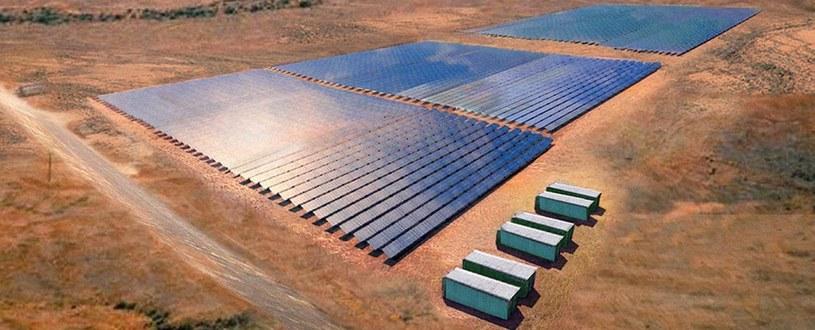 Tak ma wyglądać największa farma słoneczna na świecie /materiały prasowe