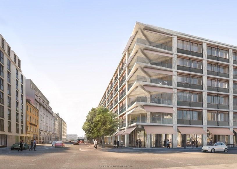 Tak ma wyglądać przeprojektowany budynek Postbanku /materiały prasowe