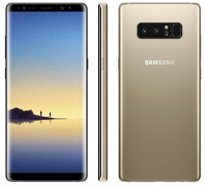 Tak ma wyglądać Samsung Galaxy Note 8 /Twitter (@evleaks) /Internet