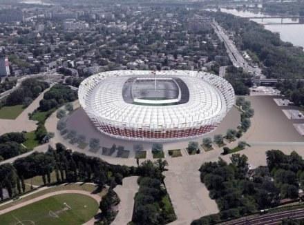Tak ma wyglądać sStadion Narodowy w Warszawie. /INTERIA.PL