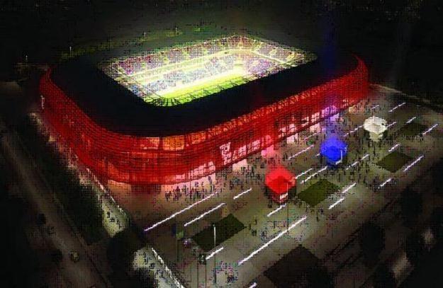 Tak ma wyglądać stadion Górnika Zabrze /www.gornikzabrze.pl