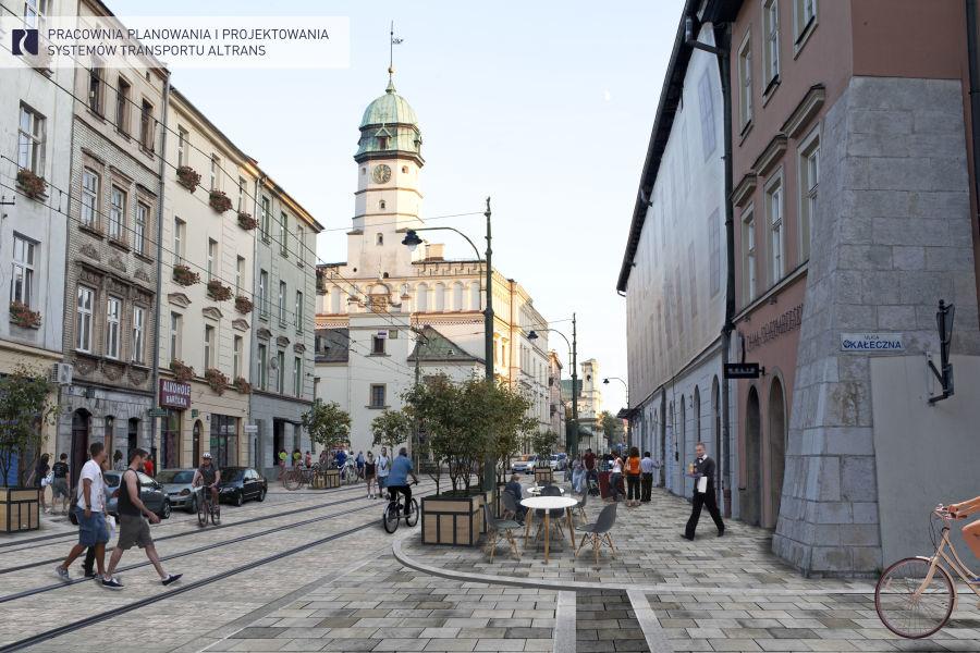 Tak ma wyglądać ulica Krakowska po remoncie /ZIKIT KRAKÓW /RMF FM