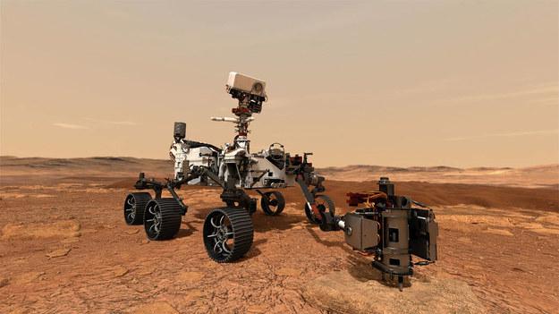 Tak mają wyglądać wiercenia na Marsie /NASA/JPL-Caltech /Materiały prasowe