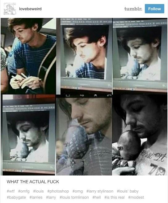 Tak manipulowanoe zdjęciami Louisa? /