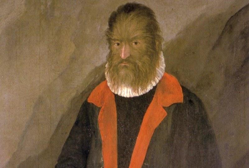 Tak miał wyglądać Petrus Gonsalvus /Wikipedia