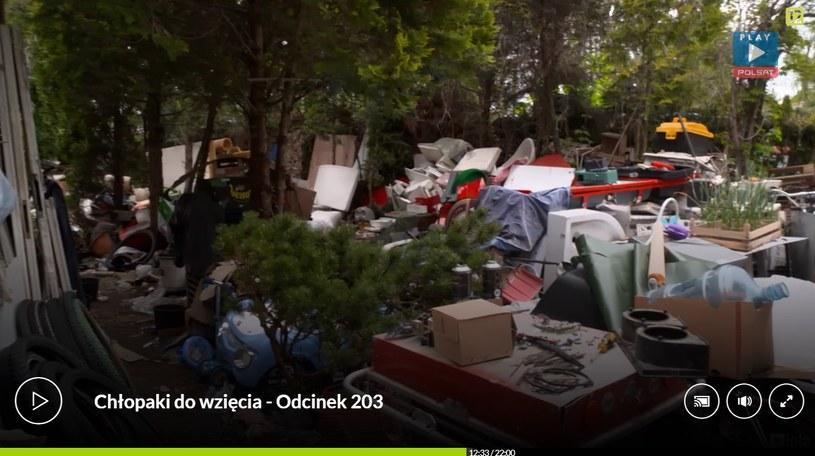 """Tak mieszka Łukasz z show """"Chłopaki do wzięcia"""", fot. screen z programu /"""