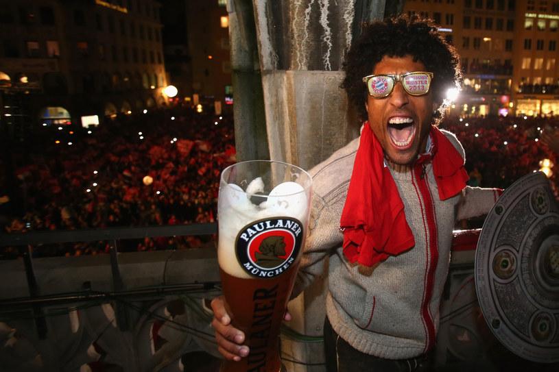 Tak mistrzostwo niemiec fetował obrońca Bayernu - Dante /AFP