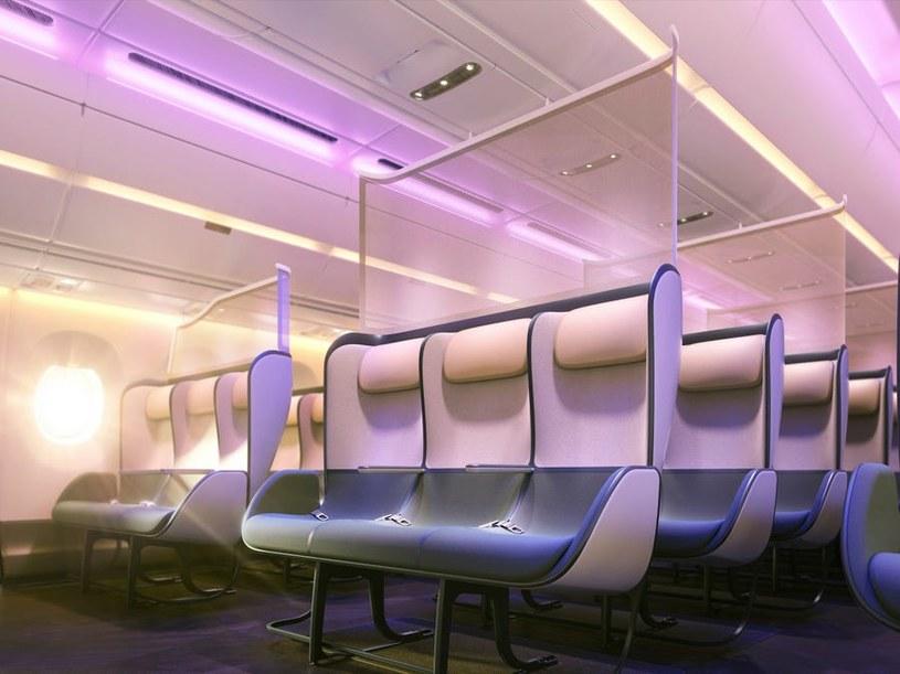 Tak mogą wyglądać nowe kabiny samolotów /materiały prasowe