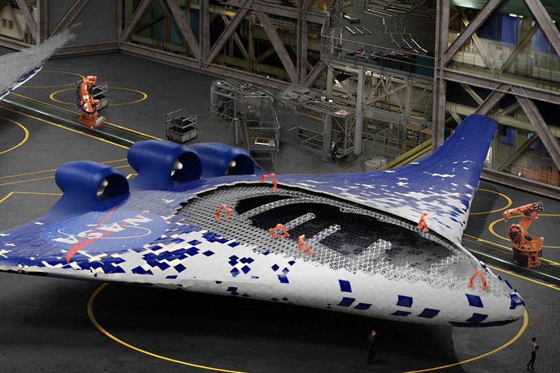 Tak mogą wyglądać samoloty przyszłości /NASA