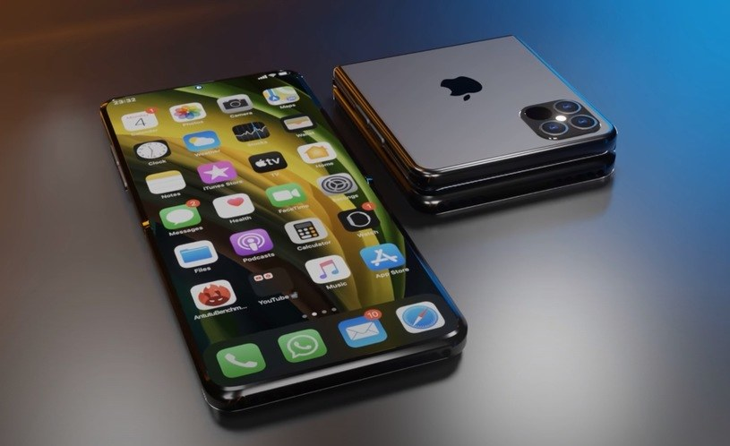 Tak mógłby wyglądać składany iPhone /YouTube