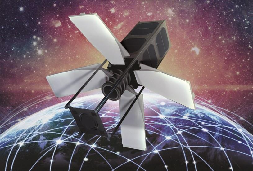 Tak może wyglądać jeden z satelitów wchodzących w skład konstelacji ScopeSat /materiały prasowe