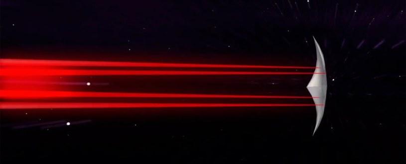 Tak może wyglądać jeden ze statków wysłanych do Alfa Centauri /materiały prasowe
