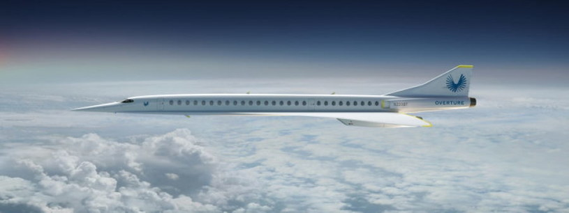 Tak może wyglądać komercyjna wersja naddźwiękowego samolotu /materiały prasowe