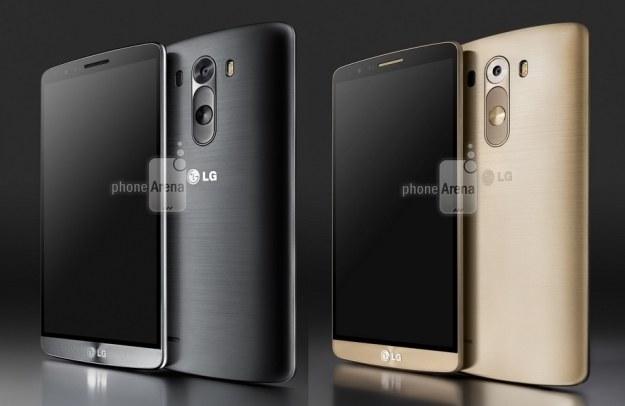 Tak może wyglądać LG G3.  Fot. Phone Arena /materiały prasowe