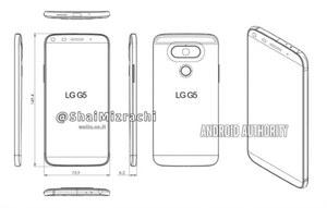 Tak może wyglądać LG G5