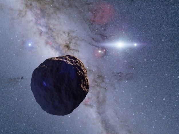 Tak może wyglądać odkryta właśnie kosmiczna skała /Ko Arimatsu /Materiały prasowe