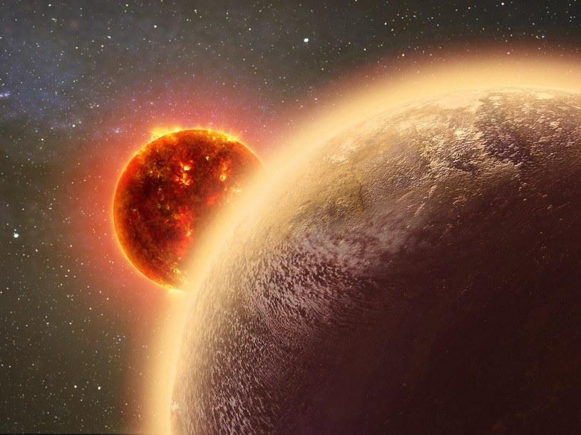 Tak może wyglądać planeta GJ 1132b, krążąca wokół swej gwiazdy /materiały prasowe