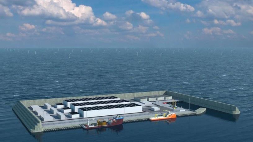Tak może wyglądać sztuczna duńska wyspa /materiały prasowe