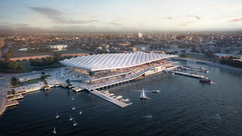 Tak może wyglądać targ rybny w Sydney w przyszłości /materiały prasowe
