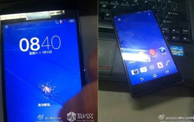 Tak może wyglądać Xperia Z3.  Fot. Weibo /materiały prasowe