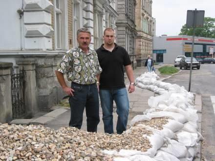 Tak nie powinno być ? mówi Janusz Kocielski/fot. I. Parejko /Boleslawiec24.net