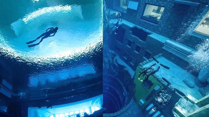 Tak niesamowicie wygląda podwodne miasto w Dubaju. To raj dla nurków [WIDEO] /Geekweek