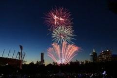 Tak Nowy Rok powitano w Melbourne!