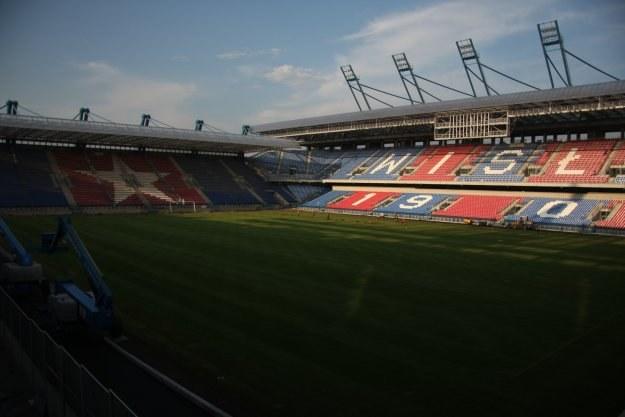 Tak obecnie prezentuje się stadion Wisły / fot. Maks Michalczak/www.wisla.krakow.pl /www.wisla.krakow.pl