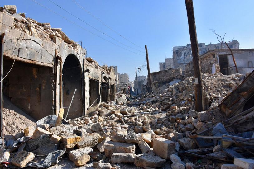 Tak obecnie wygląda Aleppo /AFP
