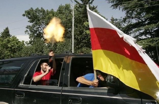 Tak Osetyńcy świętowali oderwanie się od Gruzji /AFP