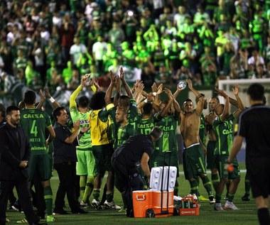 Tak piłkarze Chapecoense cieszyli się z awansu do finału Copa Sudamericana