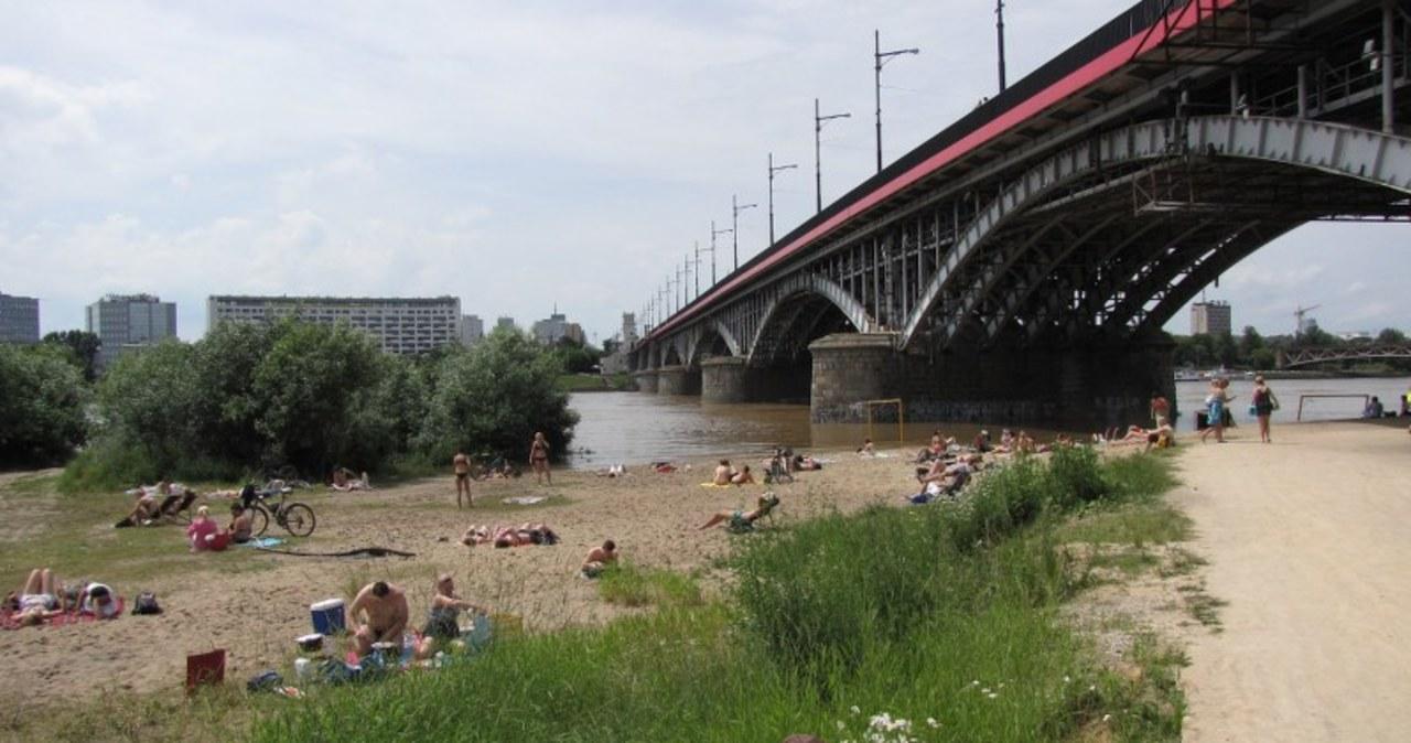 Tak plażuje się w Warszawie!