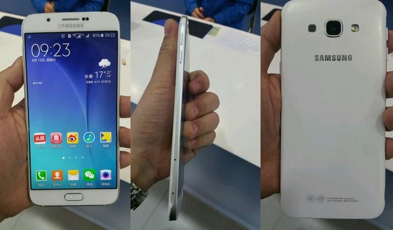 Tak podobno wygląda Samsung Galaxy A8.  Fot. nowhereelse.fr /materiały prasowe