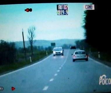 Tak policja goni złodzieja paliwa