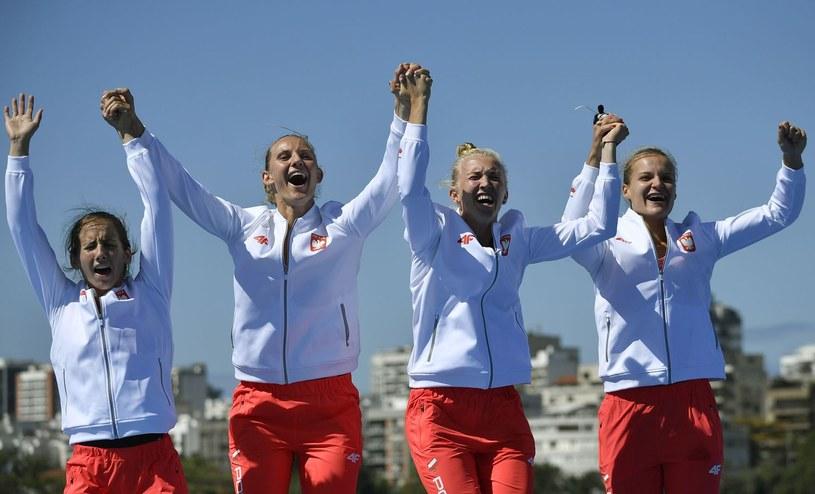 Tak Polki cieszyły się z brązowego medalu w Rio. Jak będzie w Sarasocie? /AFP