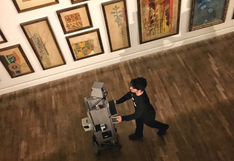 Tak powstawały zdjęcia w Muzeum Narodowym w Krakowie  na platformę Google Arts&Culture /materiały prasowe